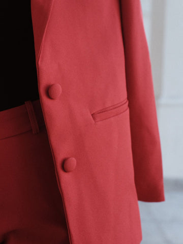 Blazer Oversized Rouge