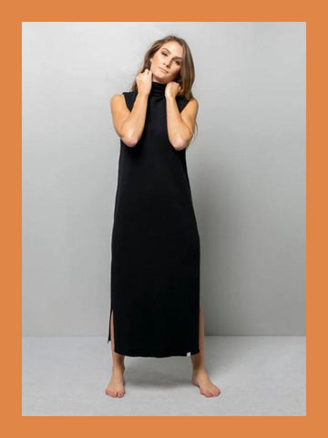 Vestido Self Midi Black