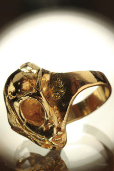 Cat Ring in Gold
