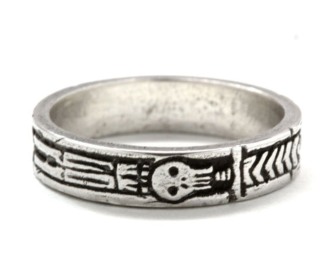 Georgian Skeleton Memento Mori Ring