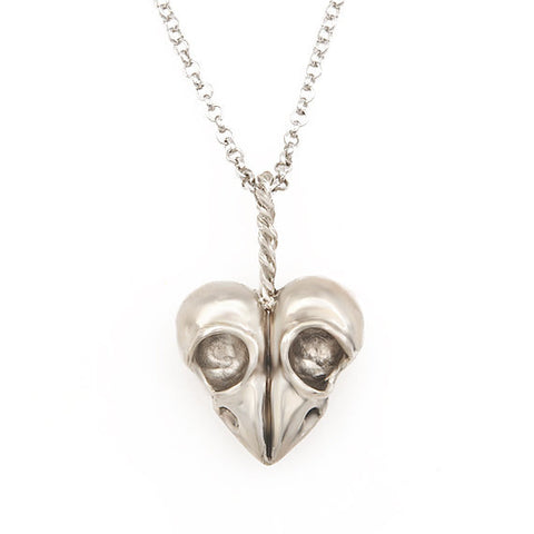 Heart of Skulls Bird Skull