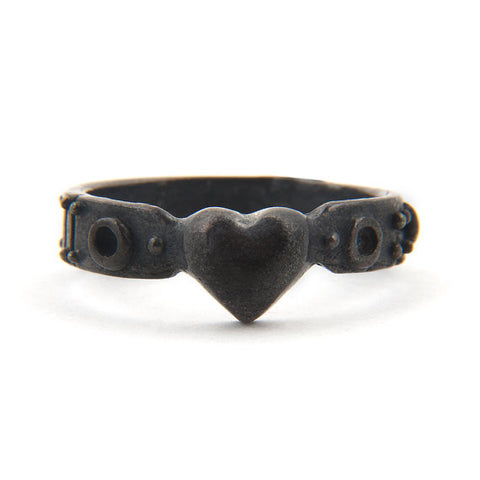 My Little Black Heart Ladies Ring