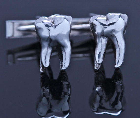 Wisdom Tooth Cufflinks by Blue Bayer Design | Blue Bayer Design NYC
