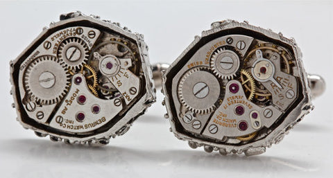 Watch Part Cufflinks