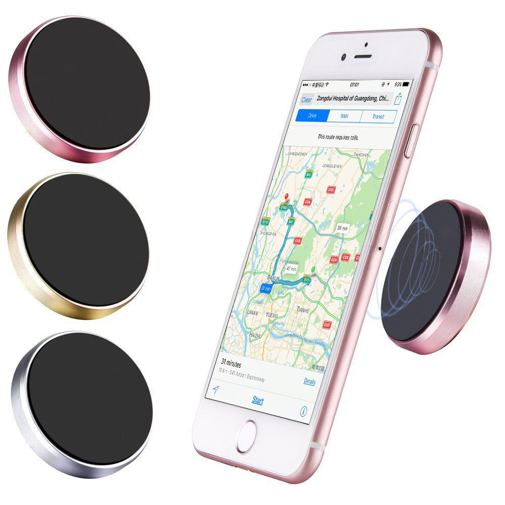 Accessories Universal in Car Magnetic Dashboard Cell Phone GPS PDA Mount Holder Stand for Samsung for iPhone 6 Pieces Strong Magnet