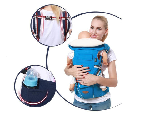 Gabesy™ Ergo Baby Carrier - Baby Sling Hipseat for Newborn All-In-One