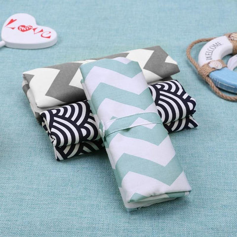 Portable Baby Diaper Changing Pad - Foldable & Washable Travel Kit
