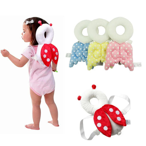 DailyMother™ Baby Head Protector Pillow - Safe Infant Head Protection Cute Wings