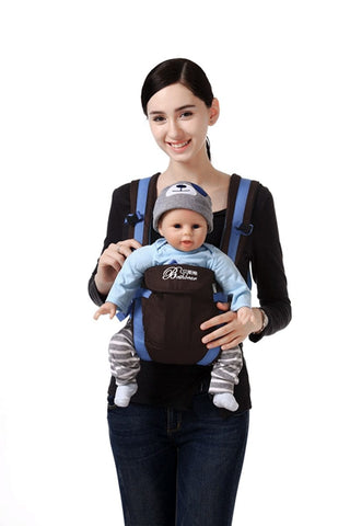 Beth Bear™ 4-in-1 Baby Carrier - Comfortable Sling Backpack Pouch Baby Kangaroo Wrap