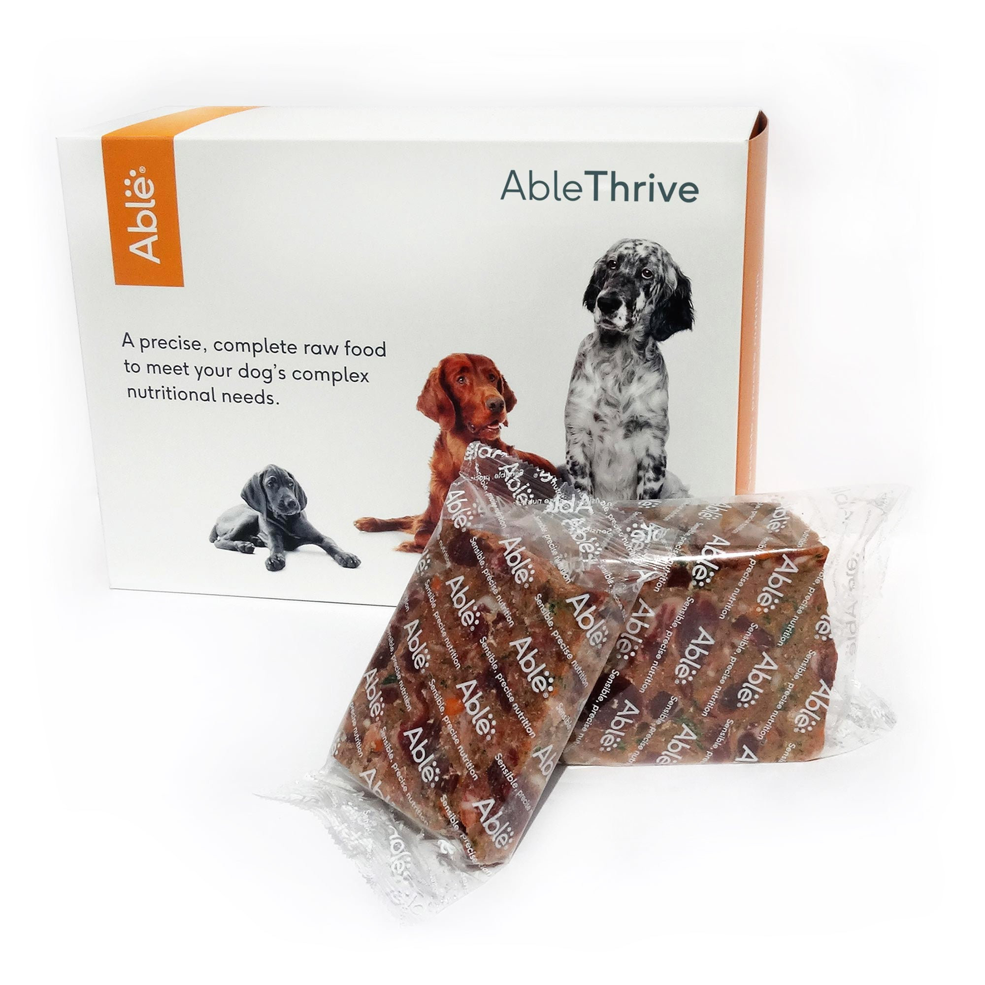 AbleThrive Puppy Lamb and Turkey with Beef