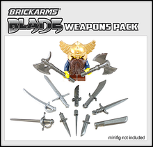 Load image into Gallery viewer, BrickArms Blade Weapons Pack