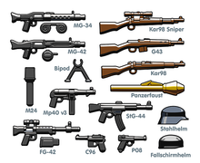 Load image into Gallery viewer, BrickArms German Weapons Pack V2