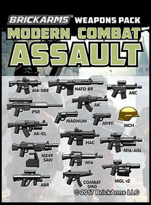 BrickArms Modern Combat Assault Pack