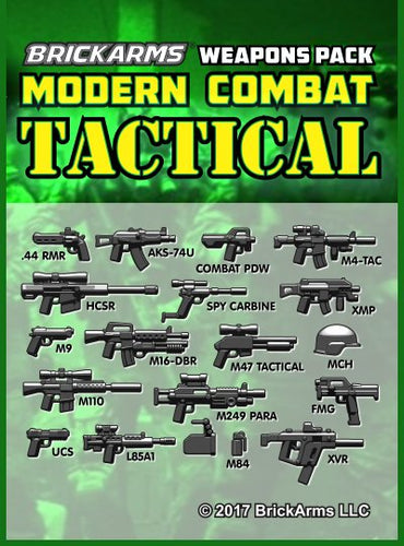 BrickArms Modern Combat Tactical Pack