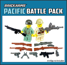 Load image into Gallery viewer, BrickArms Pacific Battle Pack