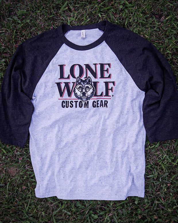 Lone Wolf Custom Gear Baseball Tee