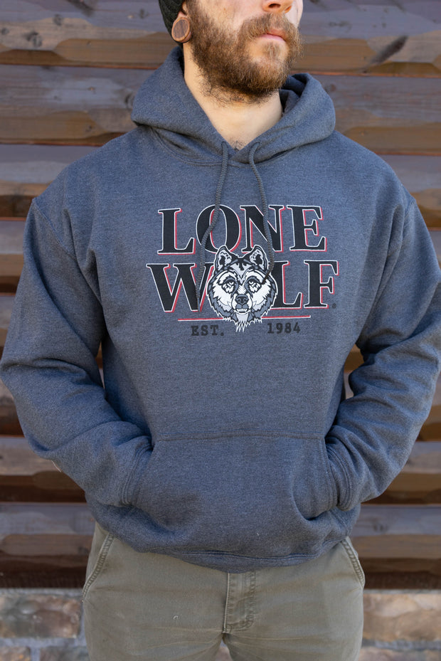 Lone Wolf Men's Hooded Sweatshirt