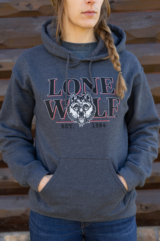 Lone Wolf Women's Hooded Sweatshirt