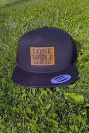 Lone Wolf Custom Gear Flat Bill Trucker Hat