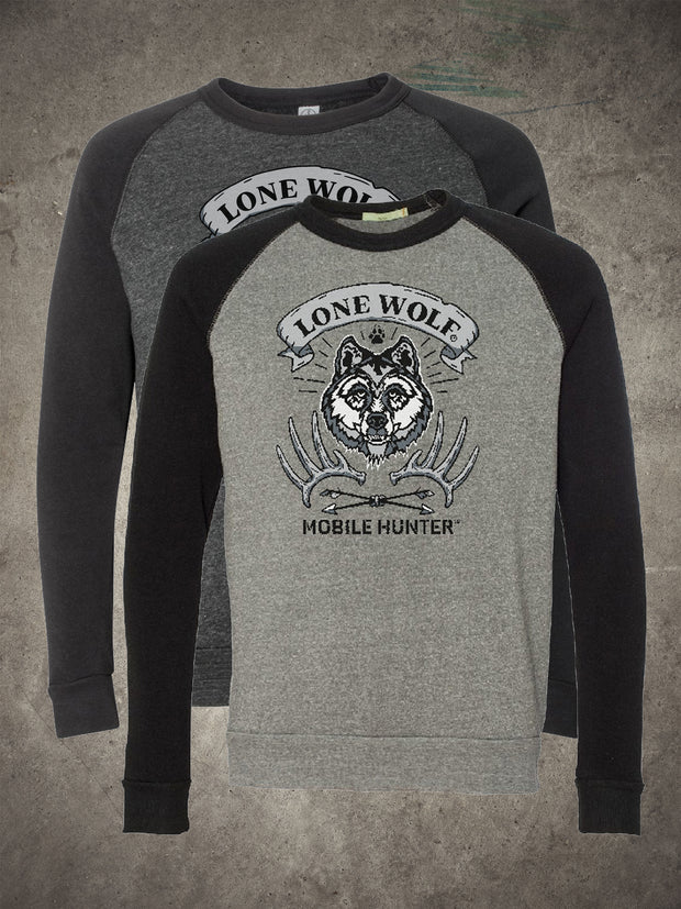 Lone Wolf Mobile Hunter Crew Neck