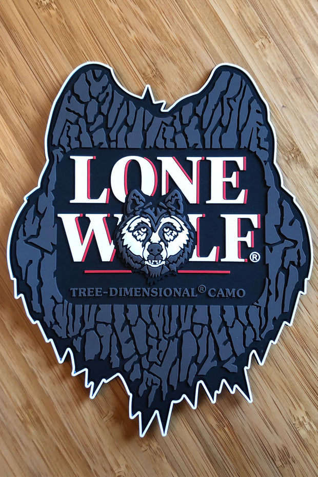 Lone Wolf 3D Decal / Patch