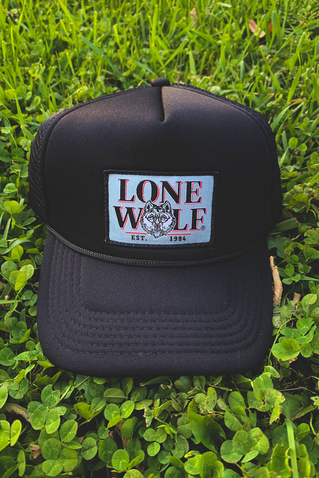 Lone Wolf Foam Trucker Hat
