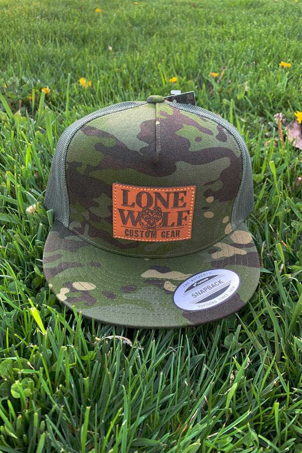 *NEW* Lone Wolf Custom Gear TRAD CAMO Trucker Hat