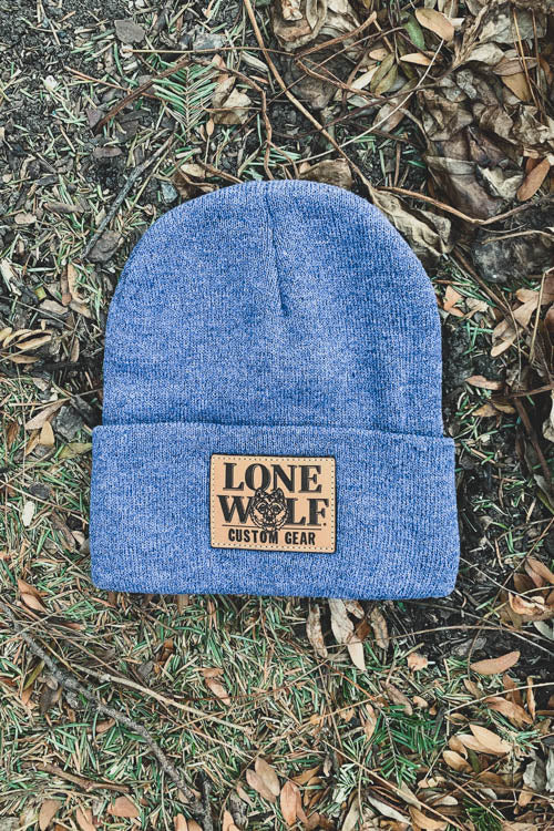 Leather Patch Sportsman's Beanie