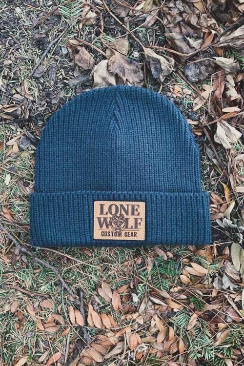 Lone Wolf Custom Gear Watch Beanie