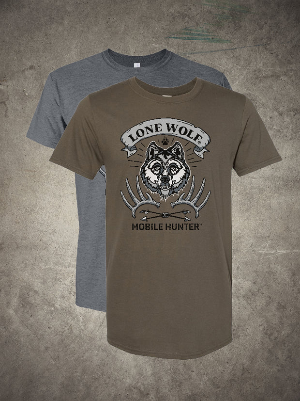 Lone Wolf Mobile Hunter T-Shirt