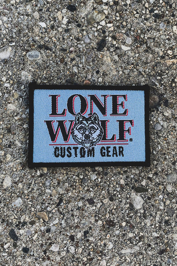 Lone Wolf Custom Gear Woven Patch