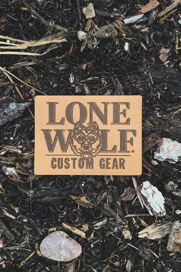 LWCG Leather Patch