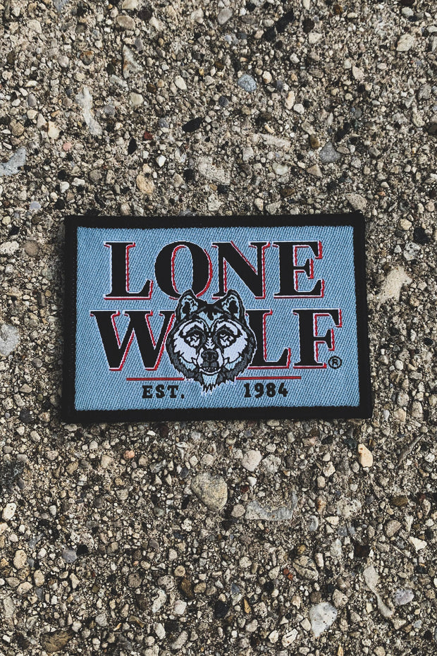 Lone Wolf Est. 1984 Woven Patch