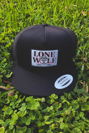 Lone Wolf Est. 1984 Flat Bill Trucker Hat