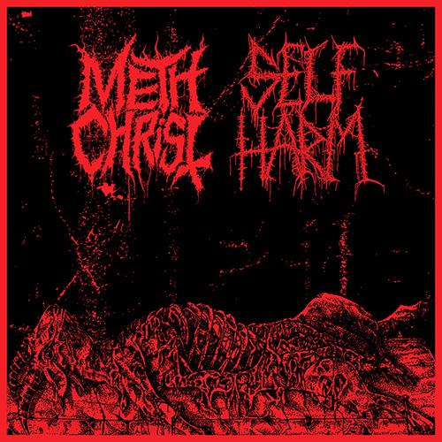Methchrist/Self Harm - Split - Cassette