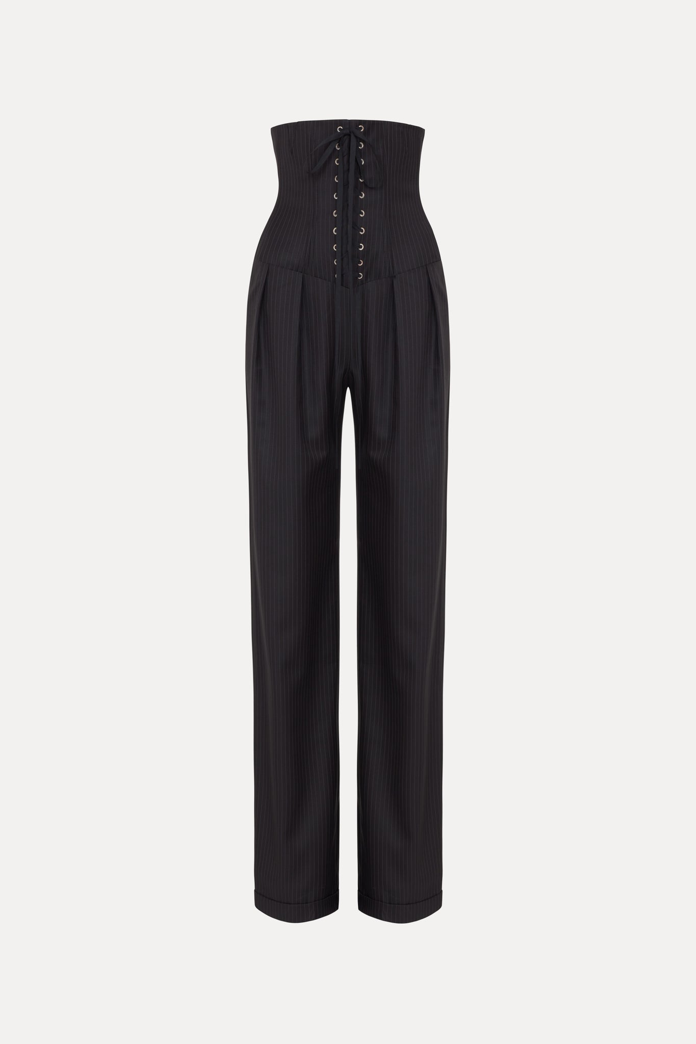 Camille Trousers - Pinstripe