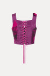 Courtesan Corset - Fuschia