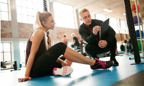 Create and maintain a scheduled exercise routine to keep yourself physically active.