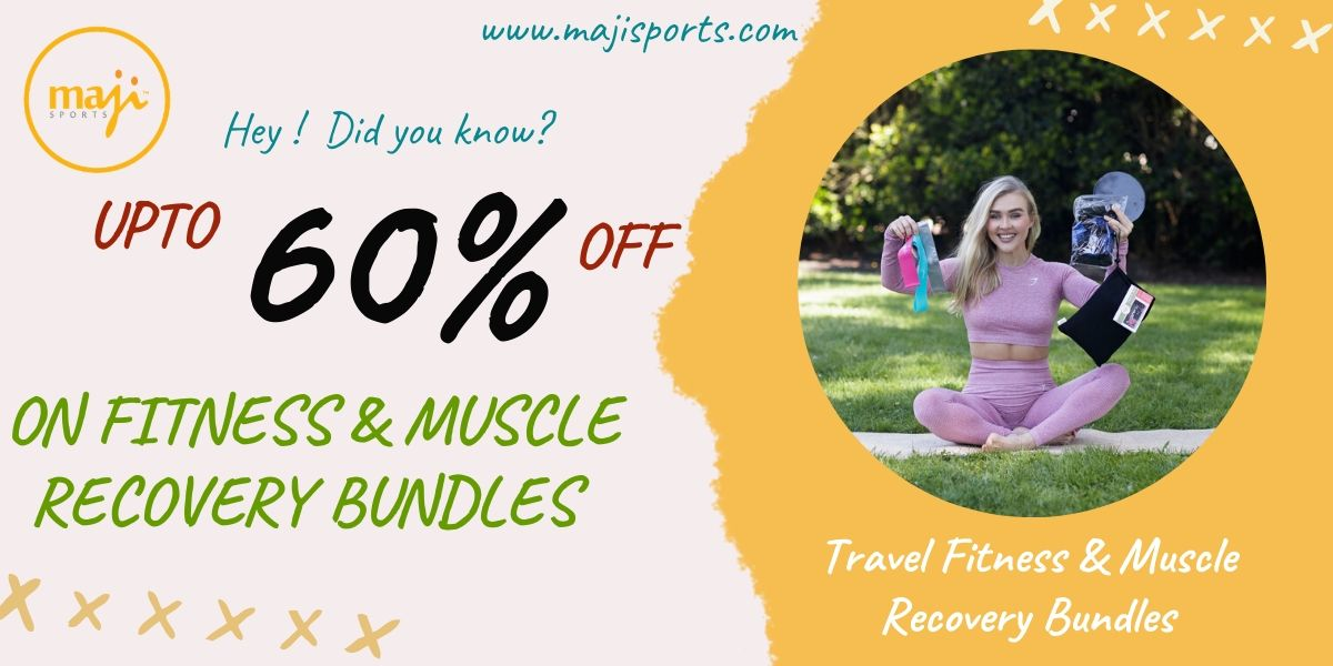 UPTO 60% Off on Fitness & Muscle Recovery Bundles - Majisports Offer