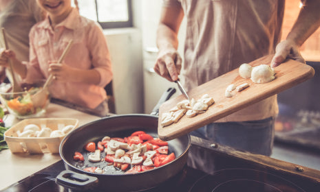 Cook some healthy meals for yourself