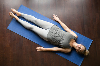 Rest with Savasana - Yoga at Home - majisports