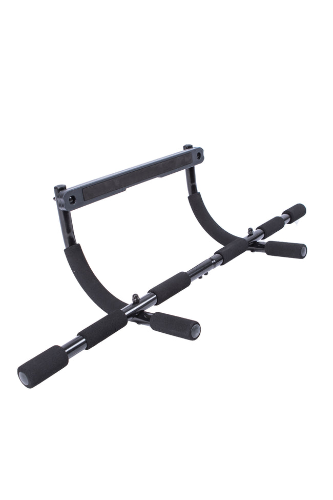 Portable multi-function pull-up bar with arm-straps