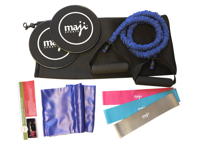 CUSTOMIZE YOUR OWN TRAVEL ECO-SUEDE + NATURAL RUBBER FITNESS & YOGA MAT + FITNESS BUNDLE
