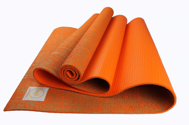 Jute Premium ECO Fitness, pilates, Yoga Mat + Muscle Recovery & 3 Pack Resistance Band Bundle