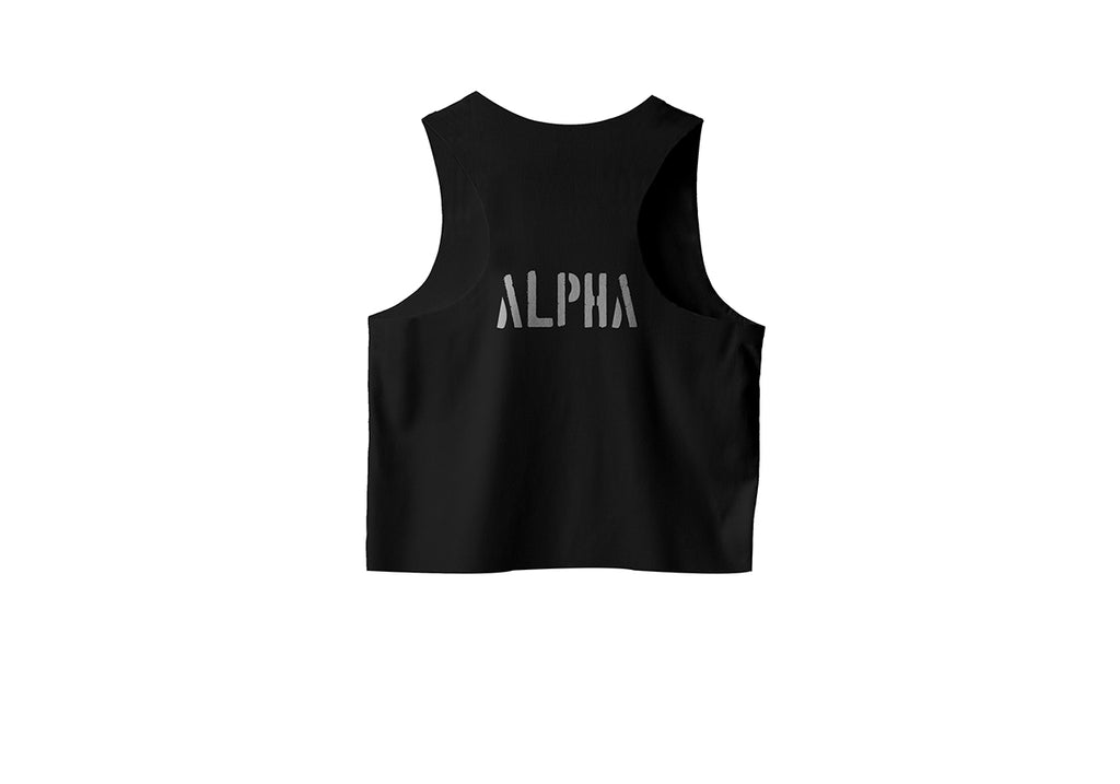 Womens Alpha Crop Tank
