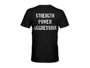 Strength Power Aggression Men's T-Shirt