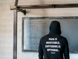 Pain & Suffering Hooded T