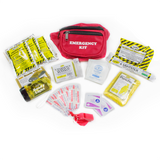 EMERGENCY FANNY PACK KIT 12 PIECE (1 DAY) [2 PACK]