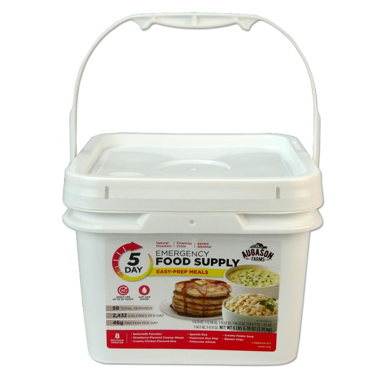 Emergency Meal Kit - 5 Day-30 year shelf life-Emergency Kit Refill-PEGlala.com