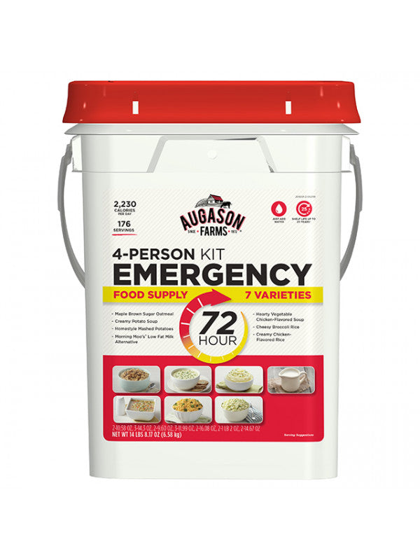 Emergency Meal Kit - 3 Day (4 Person)-25 year shelf life-Emergency Kit Refill-PEGlala.com